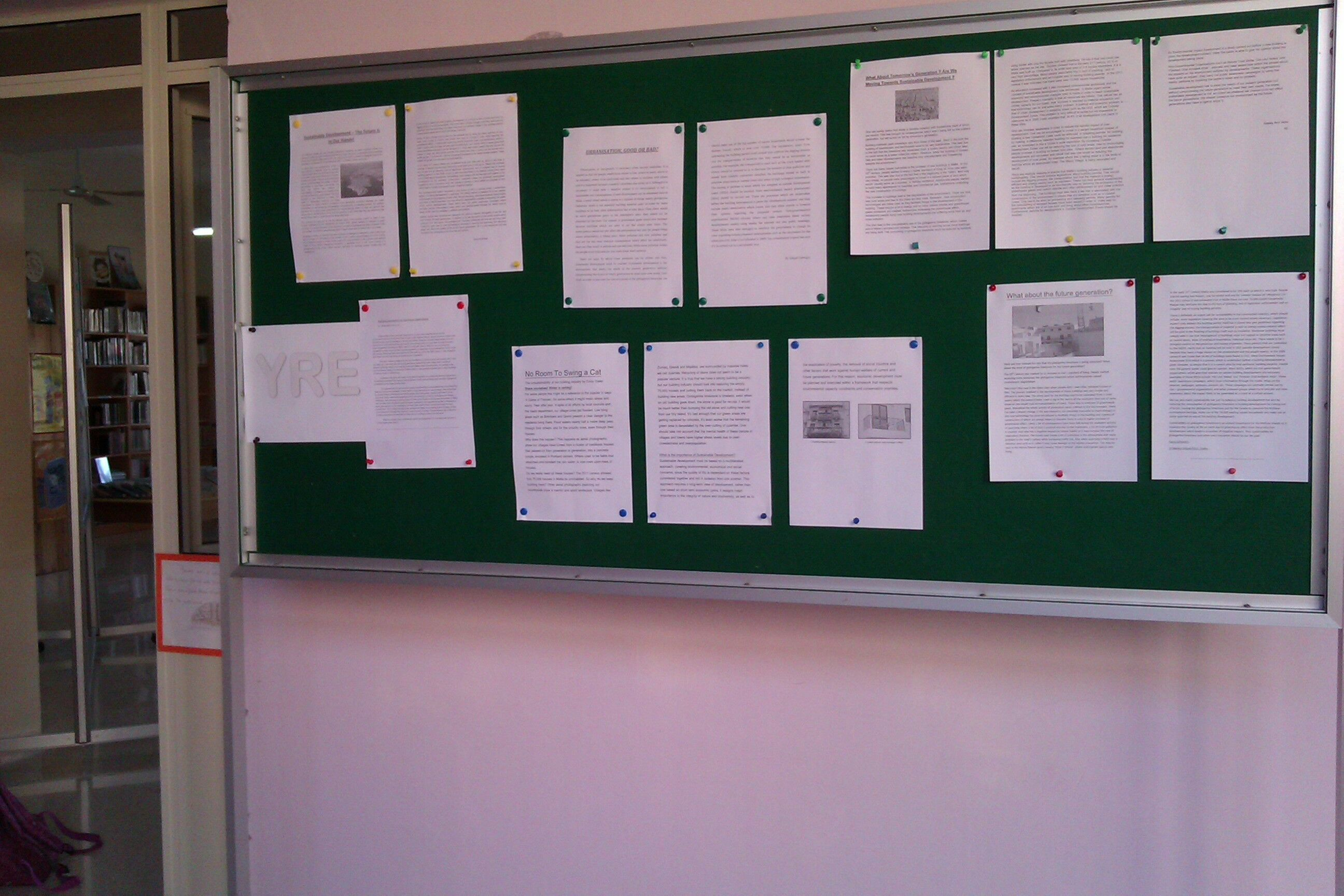 English Essay About Environment Dissemination Description Competition Essay Mounted On Library Notice  Board Which Has Been Placed Strategically Outside The Library Door For All  Students  Reflection Paper Essay also What Is An Essay Thesis Urbanisation Good Or Bad  Young Reporters For The Environment Thesis For Argumentative Essay Examples
